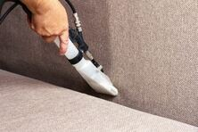 Cleaning fabric upholstery in Mesquite home